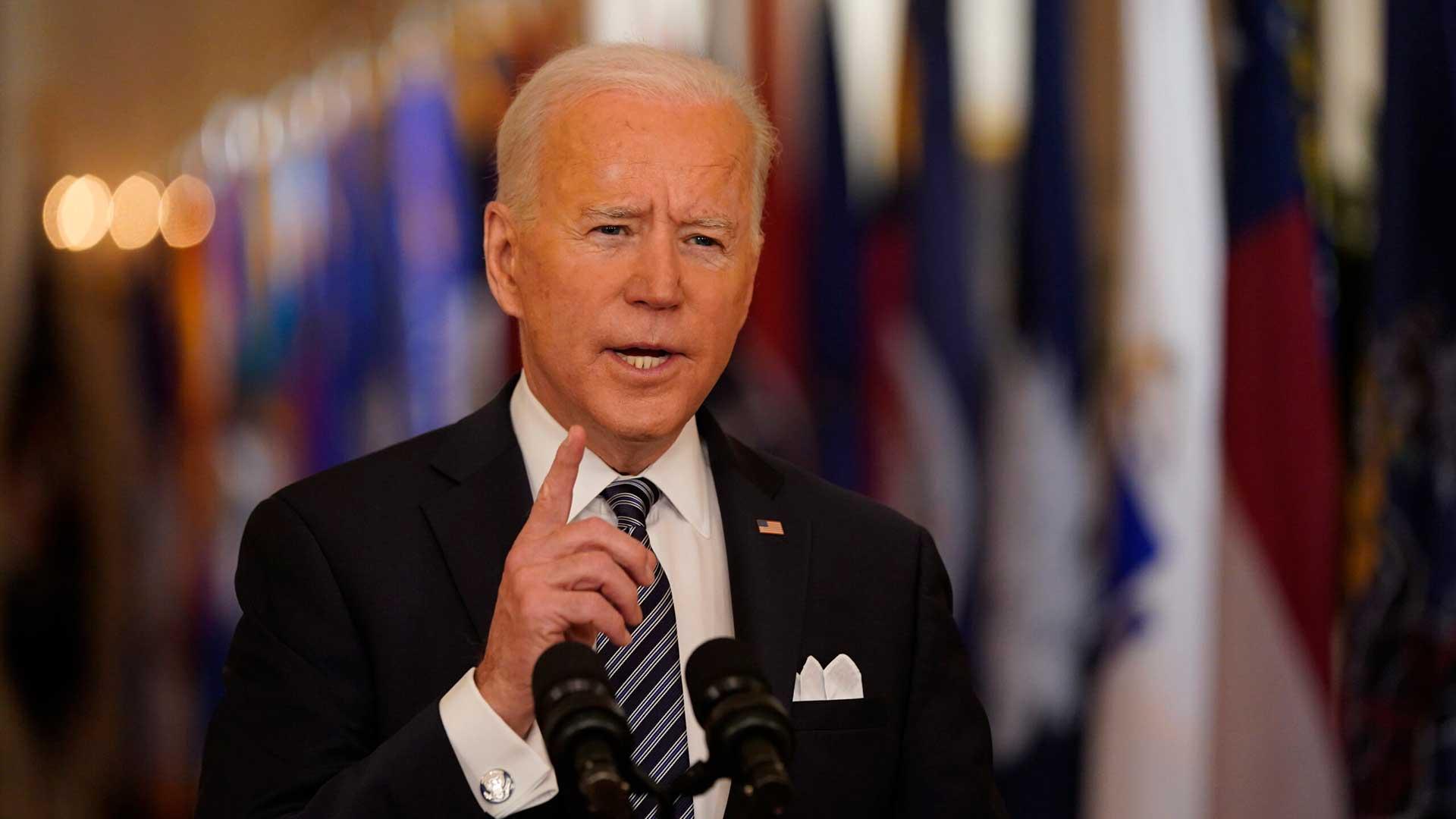 Biden parla la popolo americano